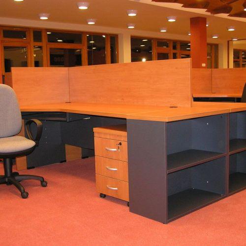Silver irodabútor asztalok
