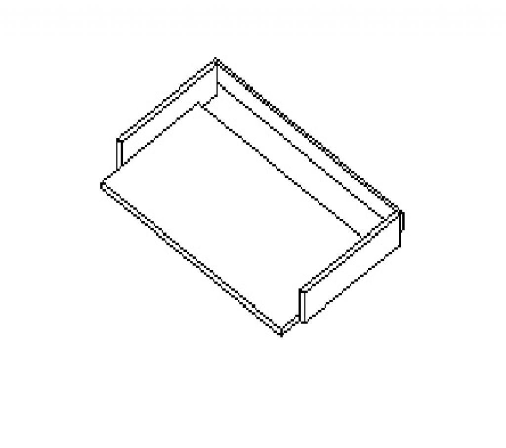 Silver irodabútor-klaviatúra-tartó