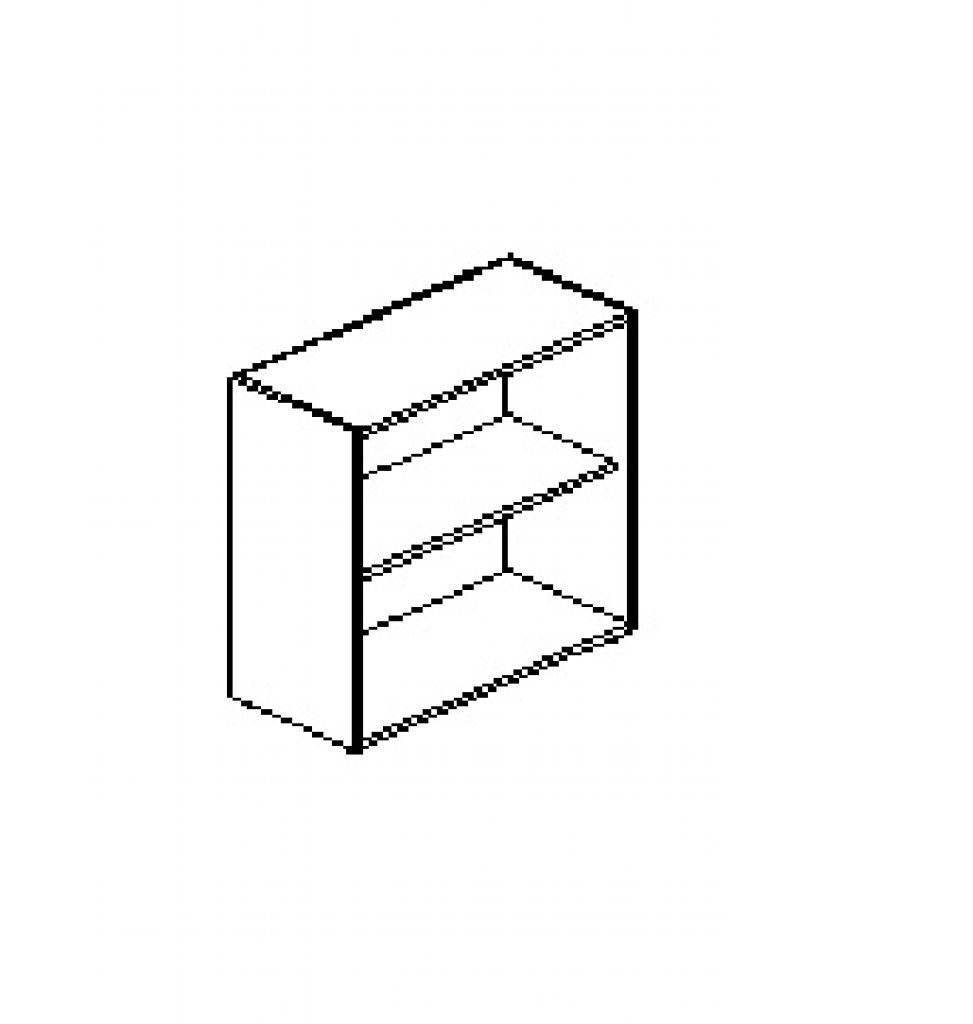 Silver irodabútor-irodai-nyitott-felső-szekrény