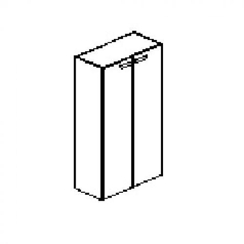Silver irodabútor-irodai-négyrendezős-zárt-szekrény