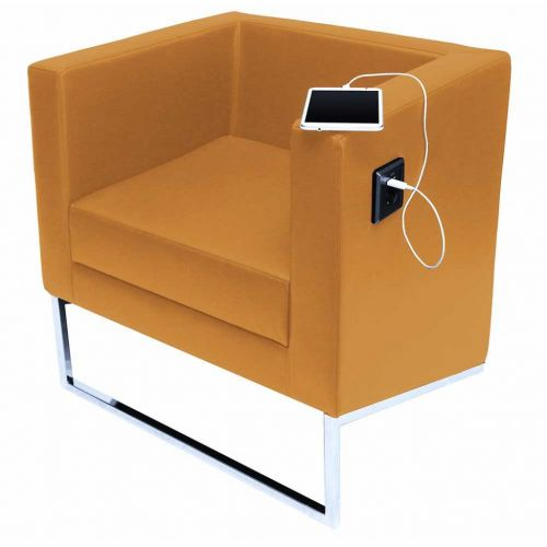 AKO minimál formatervű lobby fotel