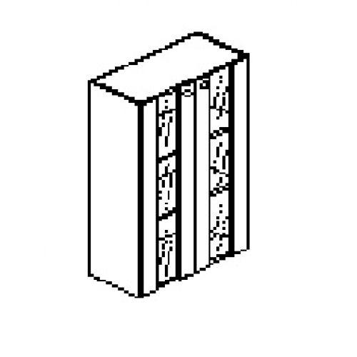 Silver irodabútor-irodai-faüveg-ajtós-szekrény