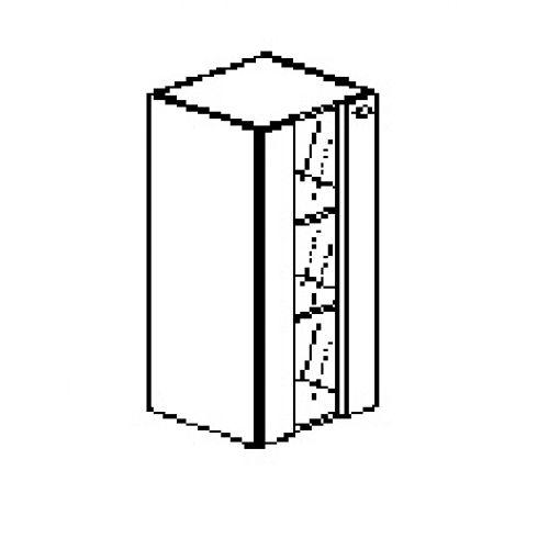 Silver irodabútor-irodai-keskeny-balos-faüveg-szekrény