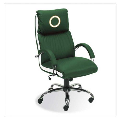 NADIR(5059) ST02-CR TILT/C SD8/LOGO Bőr fotel